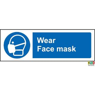 Picture of Wear Face Mask Safety Sign